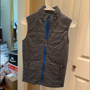 Grey Columbia Omni-heat vest